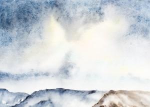 Isländische Winternacht